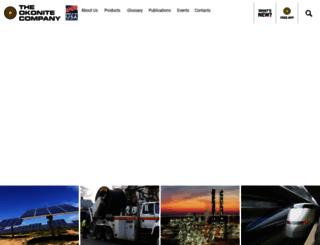 okonite.com screenshot