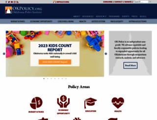 okpolicy.org screenshot