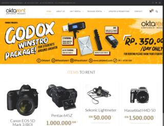 oktarent.com screenshot