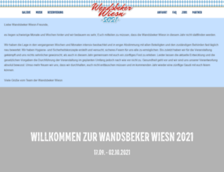 oktoberfest-hamburg.de screenshot