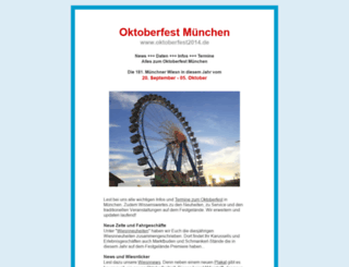 oktoberfest2014.de screenshot