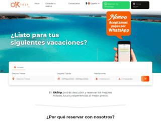 oktrip.mx screenshot