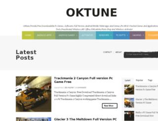oktune.blogspot.com screenshot