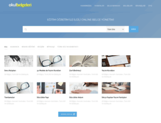 okulbelgeleri.com screenshot