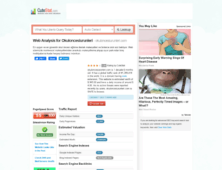 okuloncesiurunleri.com.cutestat.com screenshot