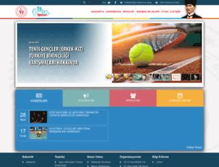 okulsportal.gsb.gov.tr screenshot