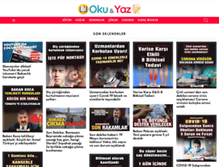 okuyaz.net screenshot