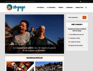 okvoyage.com screenshot