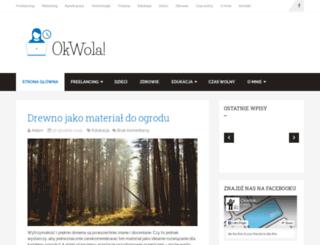 okwola.com.pl screenshot