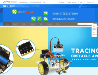 okynewstar.en.alibaba.com screenshot