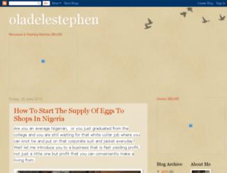 oladelestephen.blogspot.com screenshot