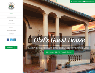olafsguesthouse.de screenshot