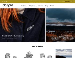 olagoriejewellery.com screenshot