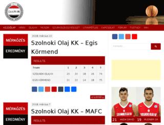 olajkk.hu screenshot