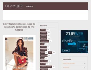 olamujer.com screenshot