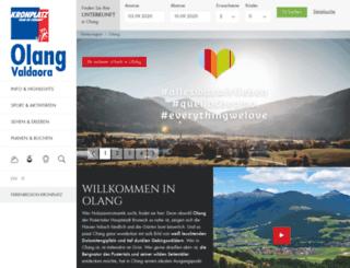 olang.info screenshot