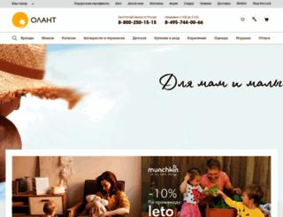 olant-shop.ru screenshot