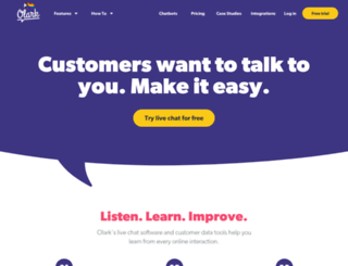 olark.com screenshot