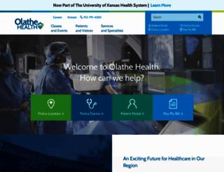 olathehealth.org screenshot