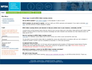 olc.nfda.org screenshot