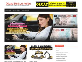 olcaysurucukursu.com.tr screenshot