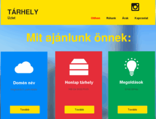 olcsowebhely.com screenshot