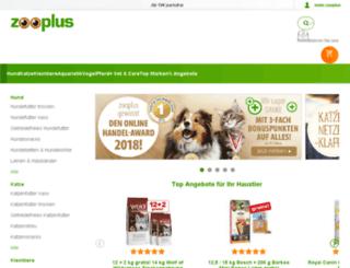 old-blog.zooplus.de screenshot