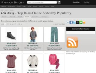 old-navy.fashionstylist.com screenshot