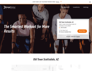 old-town-scottsdale.orangetheoryfitness.com screenshot