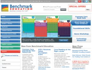 old.benchmarkeducation.com screenshot