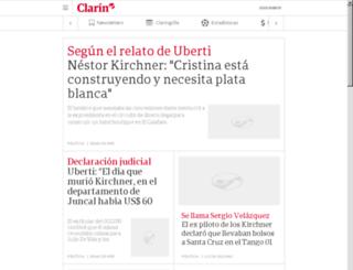 old.clarin.com screenshot