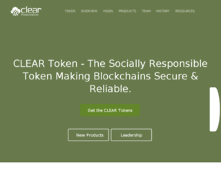 old.clearfoundation.com screenshot