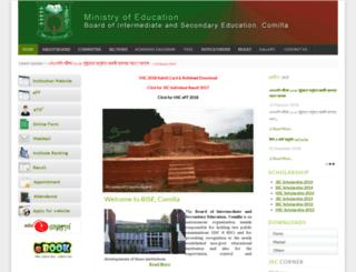 old.comillaboard.gov.bd screenshot