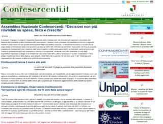 old.confesercenti.it screenshot
