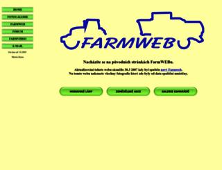 old.farmweb.cz screenshot