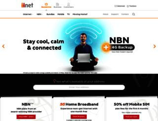 old.iinet.net.au screenshot
