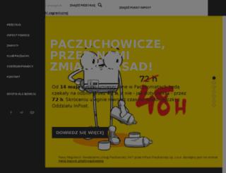 old.paczkomaty.pl screenshot