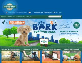 old.petsafe.net screenshot