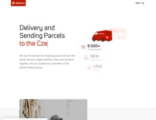 old.zasilkovna.cz screenshot