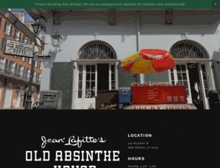 oldabsinthehouse.com screenshot