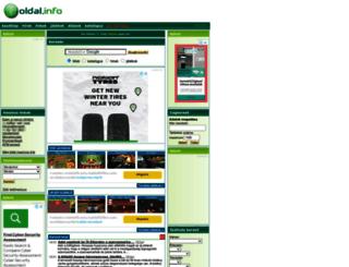oldal.info screenshot