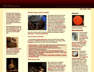 oldandinteresting.com screenshot