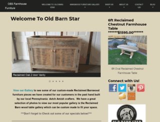 oldbarnstar.com screenshot