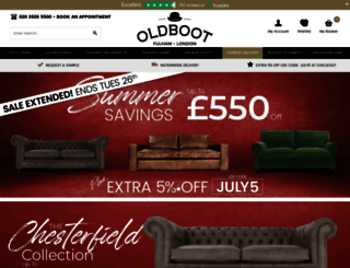 oldbootsofas.com screenshot