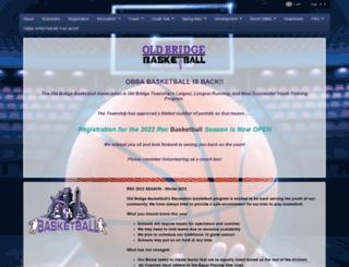 oldbridgebasketball.com screenshot