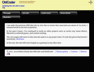 oldcoder.org screenshot
