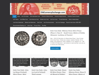 oldcurrencyexchange.com screenshot