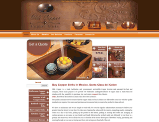 oldecopper.com screenshot