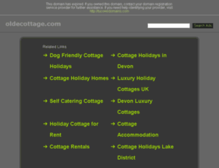 oldecottage.com screenshot