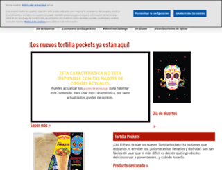 oldelpaso.com.es screenshot